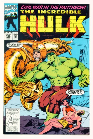 INCREDIBLE HULK #405 Marvel Comics 1993 NM