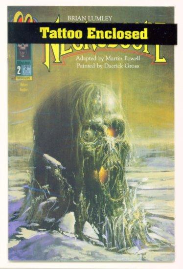 NECROSCOPE #2 Malibu Comics 1992 Brian Lumley Polybagged
