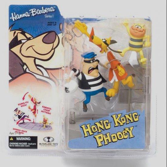 HONG KONG PHOOEY Action Figure HANNA BARBERA Todd McFarlane Toys Series 1