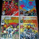 SILVER SURFER WARLOCK RESURRECTION Lot #1 - #4 Marvel Comics 1993 FULL RUN