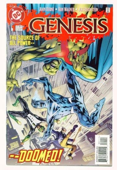 GENESIS #1 DC Comics 1997 Green Lantern  The Flash