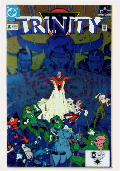 TRINITY #2 DC Comics 1993 Green Lantern Legion of Super-Heroes