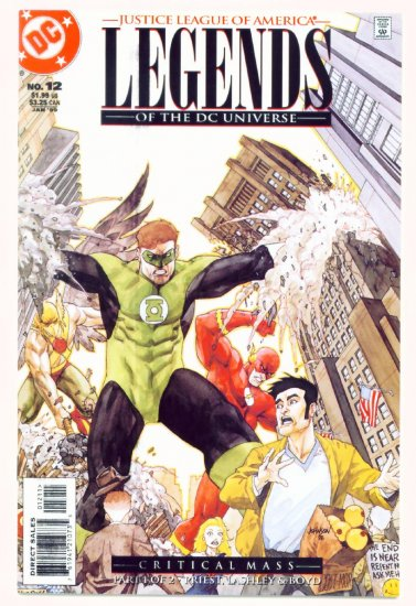 LEGENDS of the DC UNIVERSE #12 DC Comics 1999