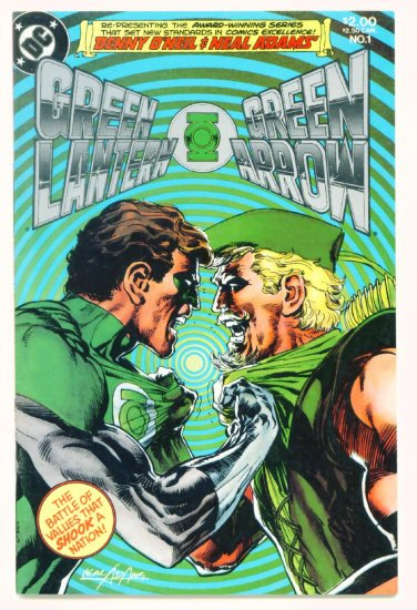 GREEN LANTERN GREEN ARROW #1 DC Comics 1983 Neal Adams