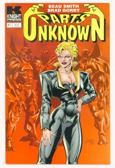 PARTS UNKNOWN DARK INTENTIONS #1 Knight Press 1995
