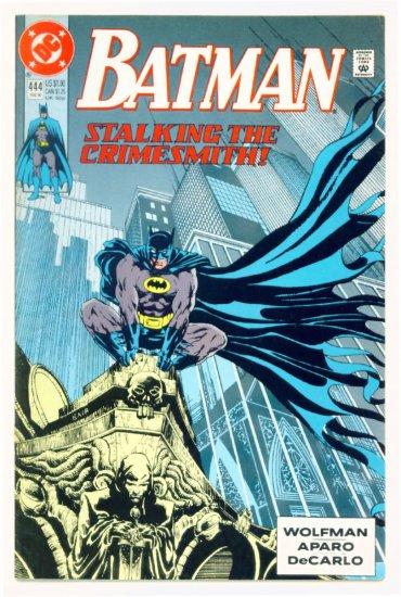 BATMAN #444 DC Comics 1989 NM