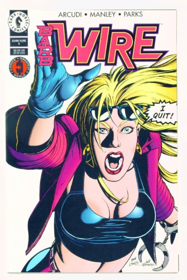 BARB WIRE #6 Dark Horse Comics 1994 NM