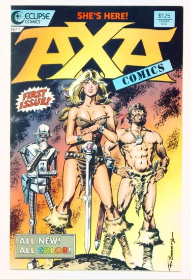 AXA #1 Eclipse Comics 1987