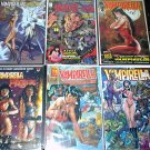 VAMPIRELLA Lot of 6 Comics Crossover Gallery Witchblade