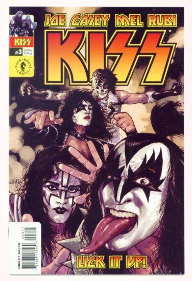 KISS #3 Dark Horse Comics 2002