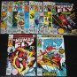 The HUMAN FLY Lot of 16 Marvel Comics 1970's