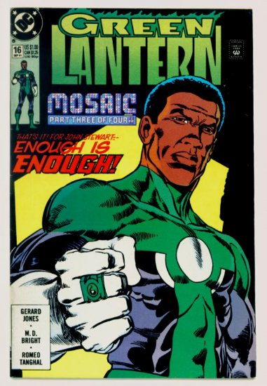 GREEN LANTERN #16 DC Comics 1991