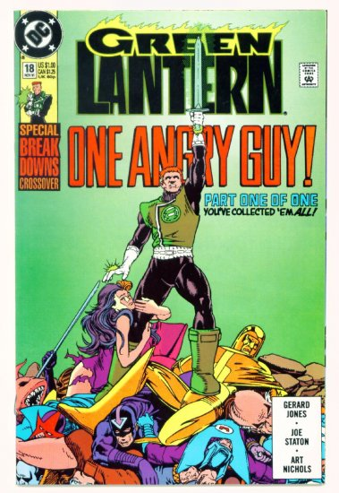 GREEN LANTERN #18 DC Comics 1991