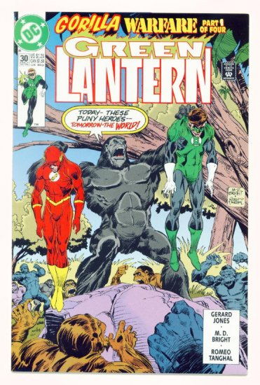 GREEN LANTERN #30 DC Comics 1992