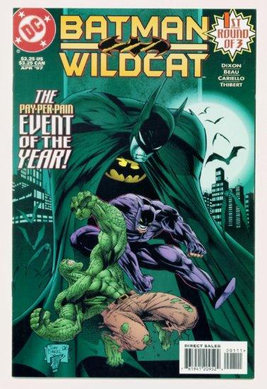 BATMAN WILDCAT #1 DC Comics 1997 NM