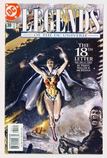 WONDER WOMAN LEGENDS of the DC UNIVERSE #30 DC Comics 2000