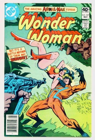 WONDER WOMAN #267 DC Comics 1980 Animal Man