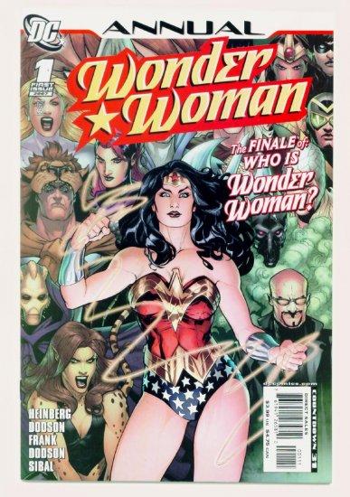 WONDER WOMAN ANNUAL #1 DC Comics 2007
