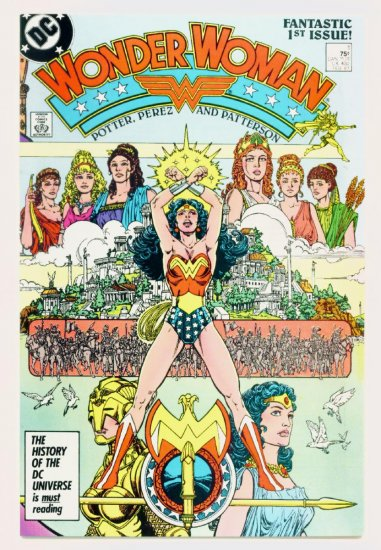 WONDER WOMAN #1 DC Comics 1988