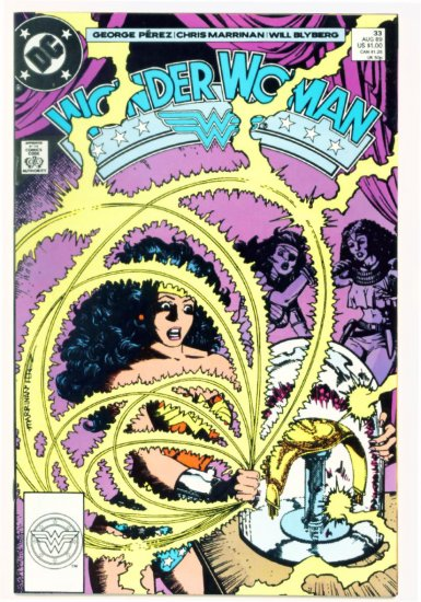 WONDER WOMAN #33 DC Comics 1989