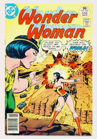 WONDER WOMAN #232 DC Comics 1977 Justice Society of America