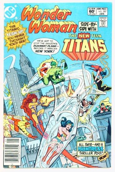 WONDER WOMAN #287 DC Comics 1982 Teen Titans