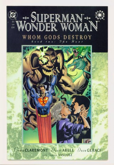 SUPERMAN WONDER WOMAN WHOM GODS DESTROY #2 DC Comics 1997