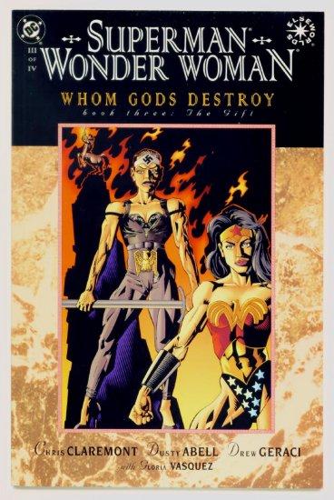 SUPERMAN WONDER WOMAN WHOM GODS DESTROY #3 DC Comics 1997