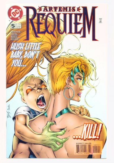 ARTEMIS REQUIEM #5 DC Comics 1996