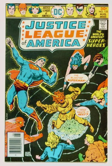 JUSTICE LEAGUE of AMERICA #133 DC Comics 1976