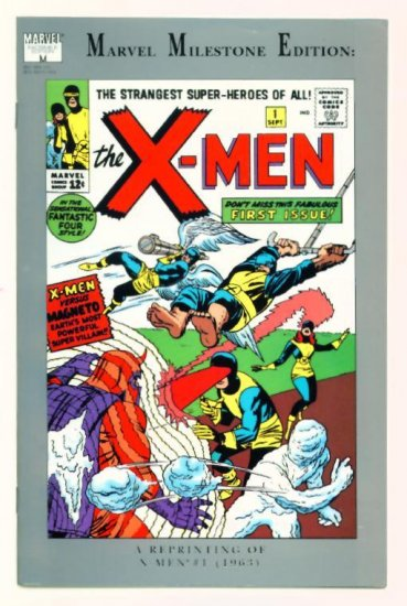 UNCANNY X-MEN #1 MARVEL COMICS MILESTONE EDTION
