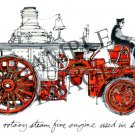 LaFrance Rotary Steam Engine Used in San Francisco