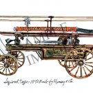 Antique Fire Apparatus Print