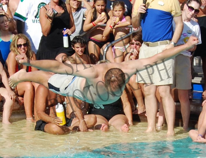 Belly Flop Competition