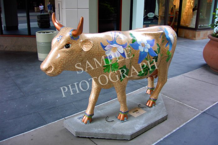 Cows On Parade - Cloisonne Cowlumbine