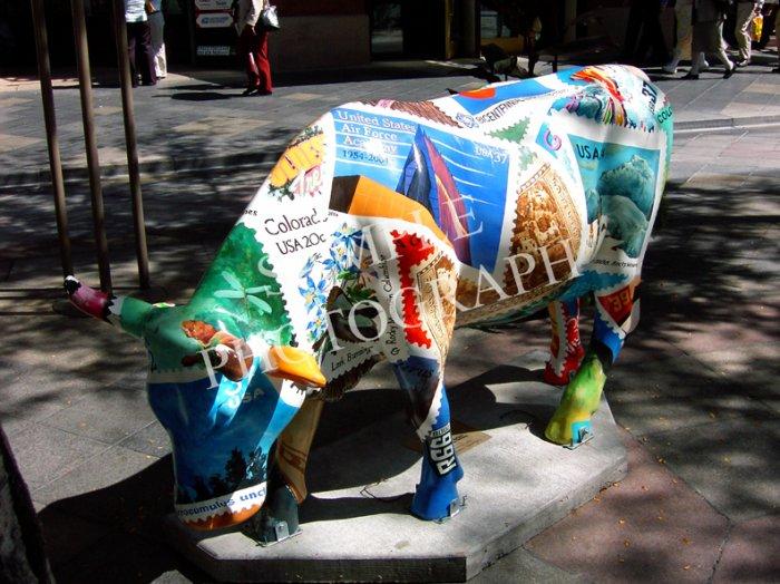 Cows On Parade - Colorado Stamp(ede)