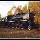 Susquehanna 142, 2-8-2 Steam Locomotive Photograph