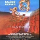 5,000 Reward 1981 Computer Ad