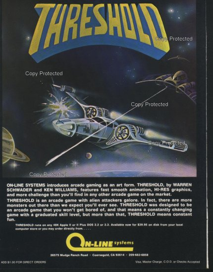 Threshold 1981 Computer Ad