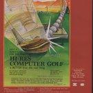 Hi-Res Computer Golf 1981 Computer Ad