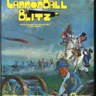 Cannon Ball Blitz 1982 Vintage Game Ad