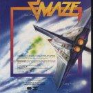 Star Maze 1982 Vintage Game Ad