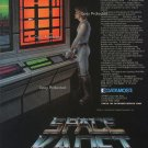 Space Kadet 1982 Vintage Computer Game Ad