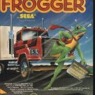 Frogger 1982 Vintage Computer Game Ad