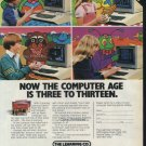The Learning Company 1982 Vintage Game Ad
