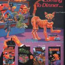 Guess Who's Comming to Dinner 1982 Vintage Computer Game Ad