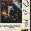 Astro Chase 1982 Vintage Computer Game Ad