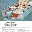 Evinrude Outboard Motor Advertisement