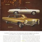 1968 Vintage Cadillac Advertisement