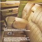 Vintage Buick Electra 225 Advertisement